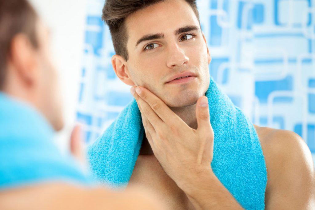 skincare routine uomo