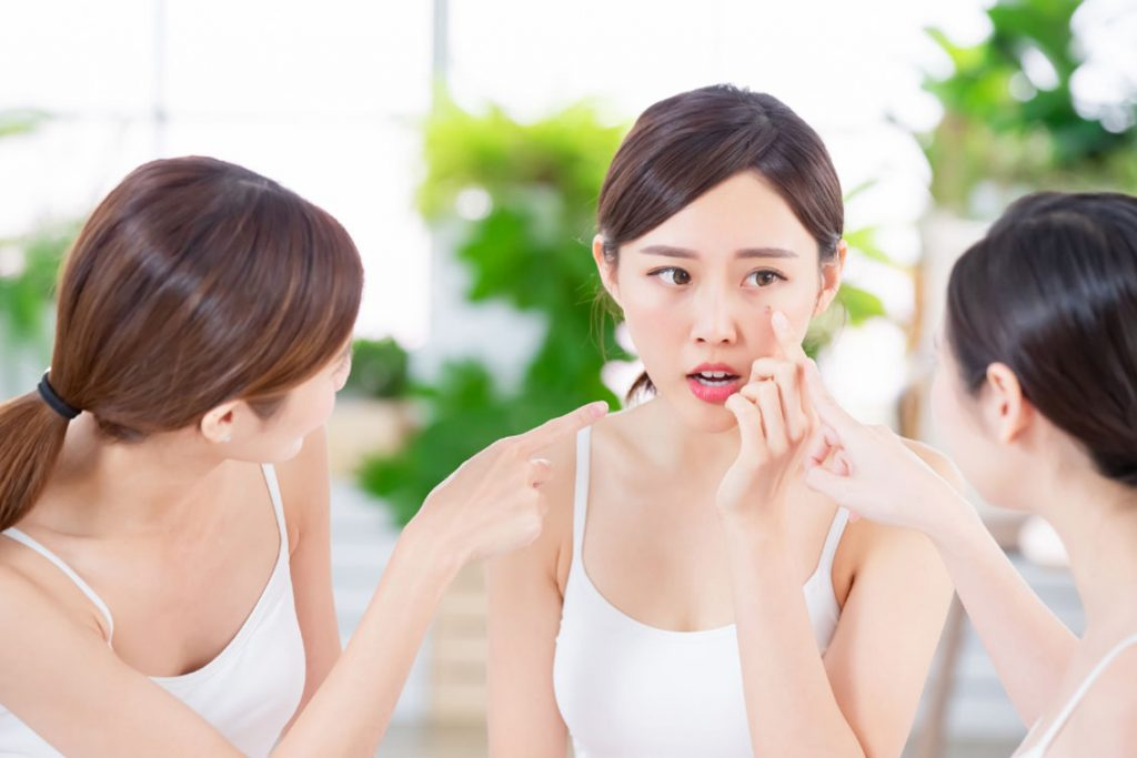 pelle sensibile viso
